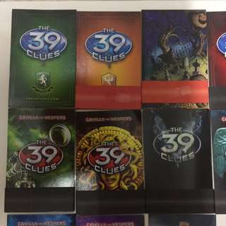 39 Clues Card Pack
