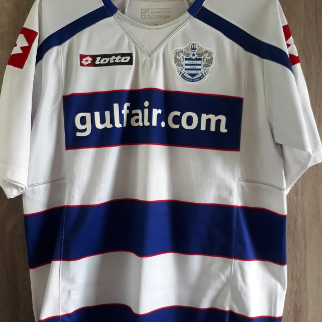 4fb75b30a 2010 QPR Queens Park Rangers jersey Lotto Shirt