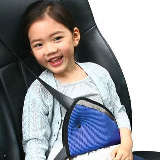 Car seat belt child holder