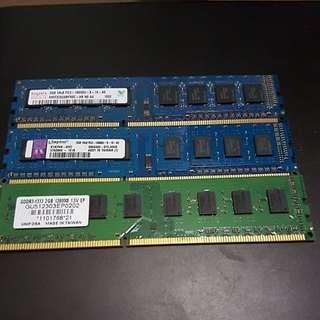 PC DDR3 ram 2GB