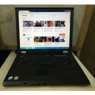"""雙核心 LENOVO 15""""屏 手提電腦 CPU T2250 即買即用"""