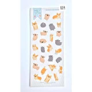 Sticker Set Moore Series - Doggo (K09)