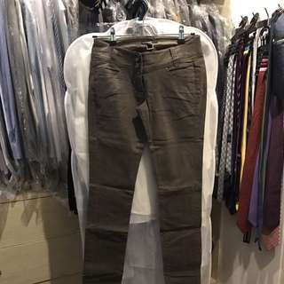 Mango Army Green Pants