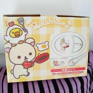 鬆弛熊-碗碟