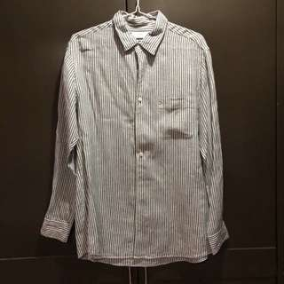 Pre-loved Uniqlo Striped Long Sleeve Shirt