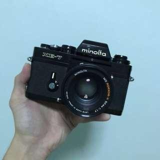 Minolta XE7 + 50mm F1.7