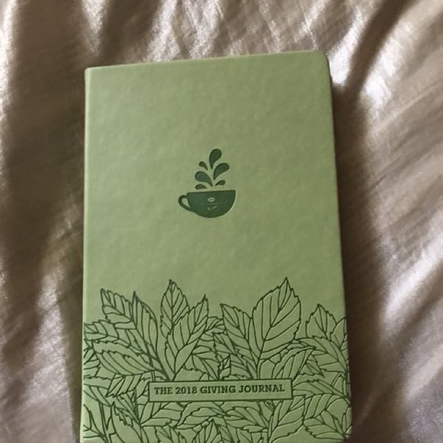 2018 Planner -The Coffeebean & Tea Leaf