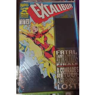 Pre-owned Comic Book - Excalibur No. 71 ( with hologram on front cover)