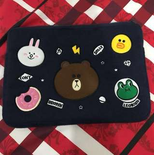 Line friends laptop sleeve 13""