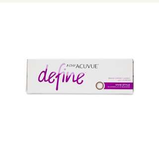 Acuvue Define daily contact lens