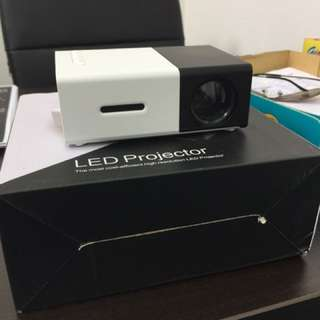 Mini projector good for entertainment