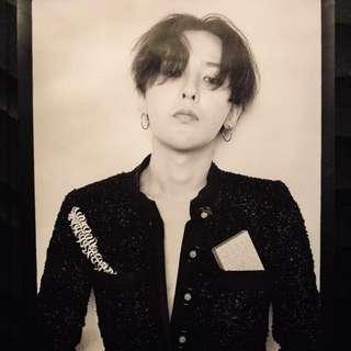 G-Dragon privee poster