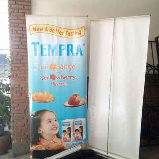 Heavy Duty Tarpaulin/Banner/Roll Up Stand
