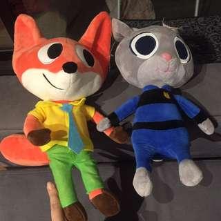 Zootopia stuffed toys