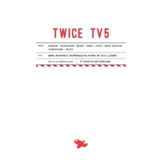 TWICE TV5 : TWICE IN SWITZERLAND DVD (3 DISC)
