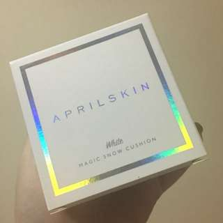 April Skin Magic Snow Cushion (White #22)