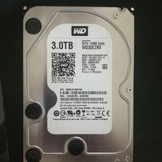 WD Green 3TB HDD