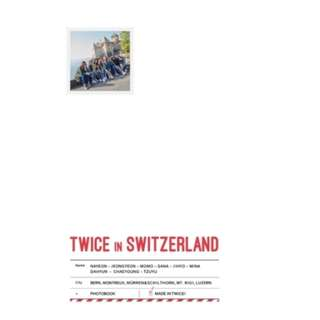 TWICE TV5 : TWICE IN SWITZERLAND PHOTOBOOK
