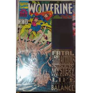 Pre-owned Comic Book - Wolverine No. 75 (with Hologram on front cover)