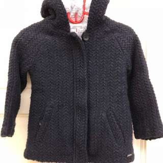 Zara Girl knitwear jacket for 7 years old