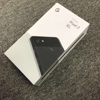 全新Pixel 2 xl  128gb 黑色