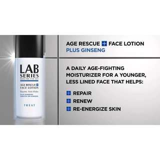 LAB SERIES AGE RESCUE+ FACE LOTION 50ml #Contiki2018