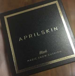 April Skin Magic Snow Cushion (Black #22)