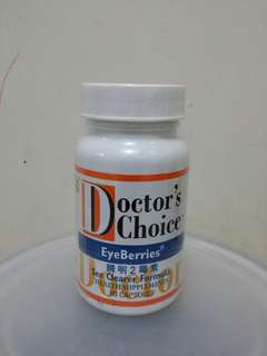 Doctor's Choice EyeBerries 晴明2莓素(60粒)