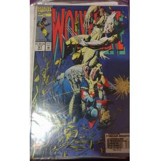 Pre-owned Comic Book - Wolverine No. 81