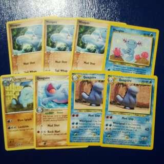 Pokemon TCG English Wooper & Quagsire Set!