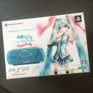 Sony PSP 3000series - Project Diva 2 Limited Ed Jap (Original) Per pcs