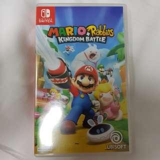 Mario + Rabbids Kingdom Battle (Almost New)