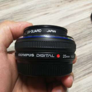 [Preloved] Olympus 25mm f2.8 for 4/3 Camera E-Series