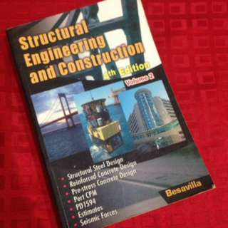 Structural Engineering and Construction 4th Edition Vol 2 - Besavilla