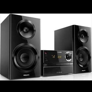 Philips 微型音響組合 BTM2360/12, HI-FI Home Audio, 抽獎禮物