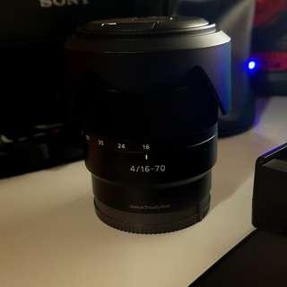 Sony Vario Tessar T*E 16-70mm F4