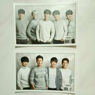 Super Junior Postcard Photostand