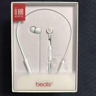 全新未開 - Beats X 無線 耳筒 Bluetooth 藍芽