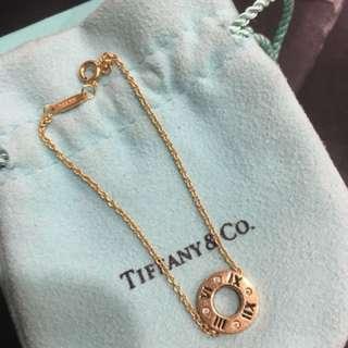 Rose Gold Tiffany and Co  Atlas Pierced Bracelet
