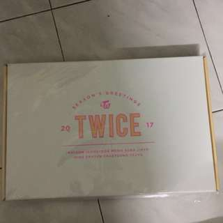 Twice season greeting 2017