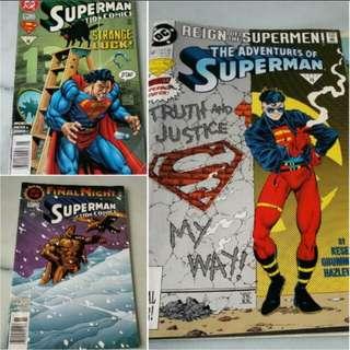 Vintage DC Comics - Superman