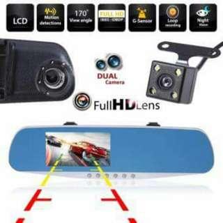 """Dual Lens Dash Cam 4.3"""""""