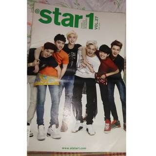 Star1 Magazine Vol. 27 (EXO COVER )