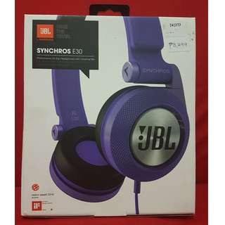 JBL Synchros E30 On-ear headphone