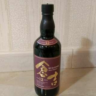 日本威士忌 倉吉12年