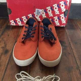 Pony Burn Orange Sneakers