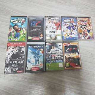 Cheap Used PSP Games