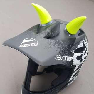 Solid Devil Horn for Helmet or others