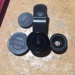 Fisheye Macro Clio Phone Lenses