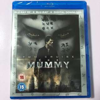 *2 for $50* The Mummy 2017 3D Blu-ray + 2D Blu-ray Movie